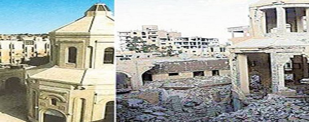 Four Armenian Churches in Syria destroyed by ISIS