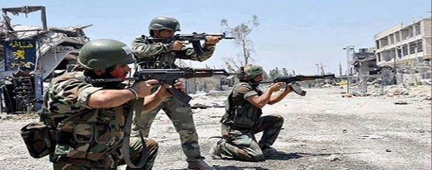 Syrian army soldiers (file photo)
