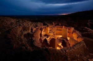 "PORTASAR, so called ""Göbekli Tepe"" is the oldest known human-made religious structure. It was built in the Armenian Highland around the 12 th millennium BCE . Now occupied by turkic nomads.."