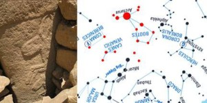 "Goat and Horse stone compared to modern Star Map... ...PORTASAR, so called ""Göbekli Tepe"" is the oldest known human-made religious structure. It was built in the Armenian Highland around the 12 th millennium BCE . Now occupied by turkic nomads.."
