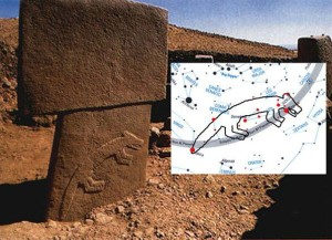 "The Great Fox and Lesser Fox stones compared to modern star map......PORTASAR, so called ""Göbekli Tepe"" is the oldest known human-made religious structure. It was built in the Armenian Highland around the 12 th millennium BCE . Now occupied by turkic nomads.."