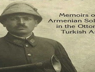Armenian soldier in the Turkish army during the Armenian Genocide